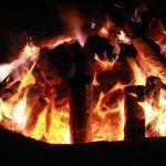 fuoco acceso