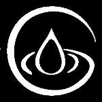 icona logo bianco